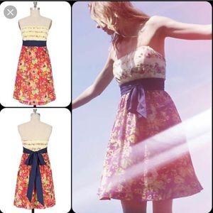 Anthro: Maeve Blissful Days  Dress 8 EUC